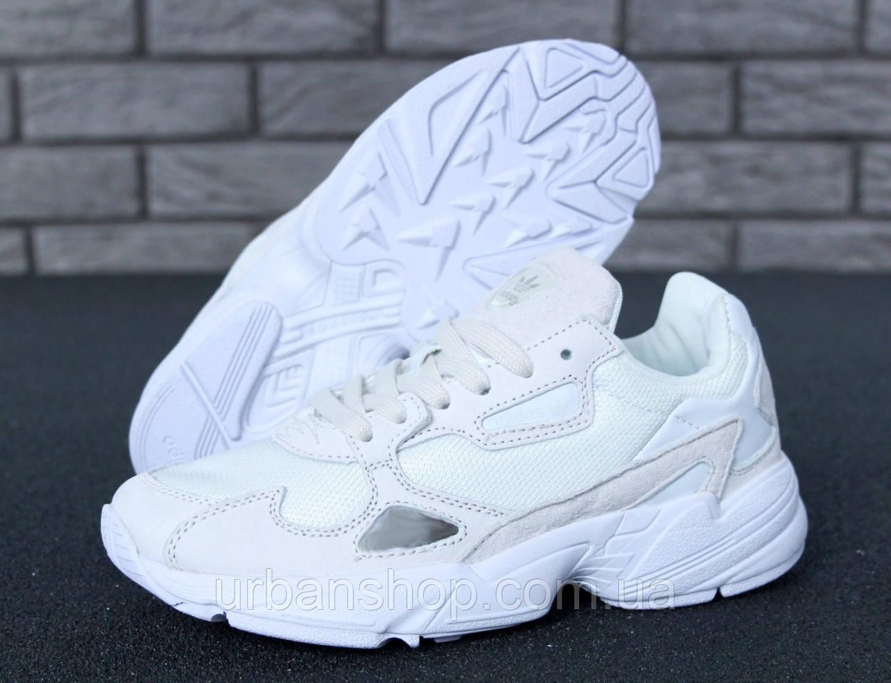 Жіночі кросівки AD Falcon white, А-д фалькон. ТОП Репліка ААА класу.