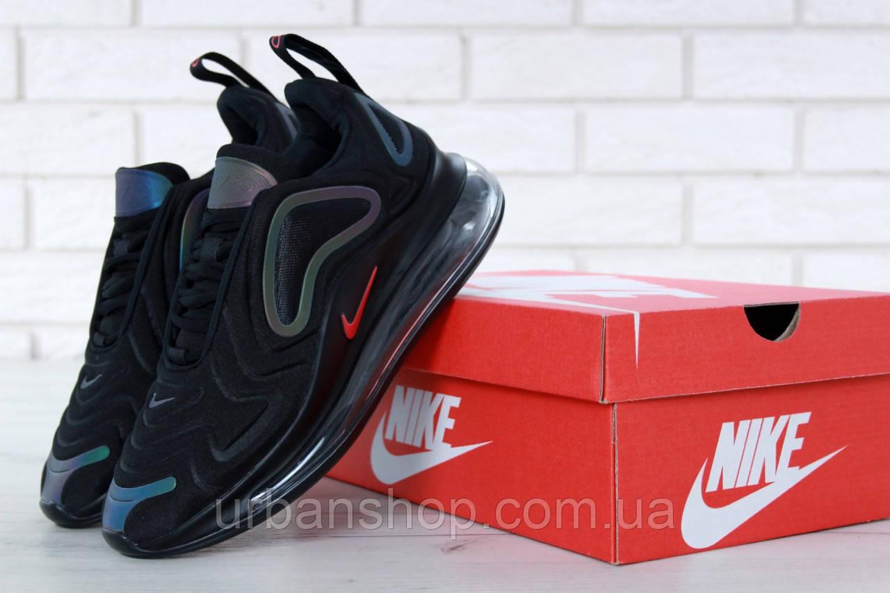 Кросівки чоловічі Найк Nike Air Max 720 Black/White. ТОП Репліка ААА класу.