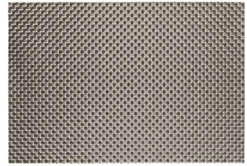 Салфетка под горячее 30X45 см серо - металлического цвета Empire М-6002