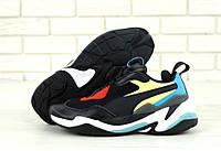Жіночі  кросівки Puma Thunder Spectra Black . ТОП Репліка ААА класу., фото 1