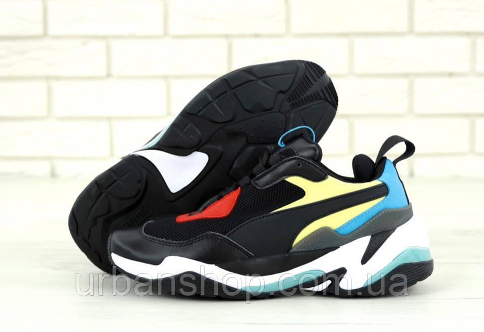 Жіночі  кросівки Puma Thunder Spectra Black . ТОП Репліка ААА класу.