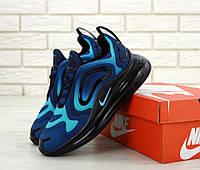 Чоловічі кросівки Nike Air Max 720 Blue . ТОП Репліка ААА класу., фото 1