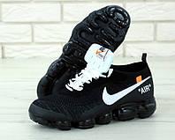 Чоловічі кросівки Nike Vapor Max off White . ТОП Репліка ААА класу., фото 1