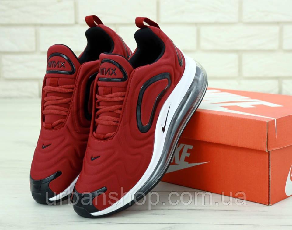 Чоловічі кросівки Nike Air Max 720 Red . ТОП Репліка ААА класу.