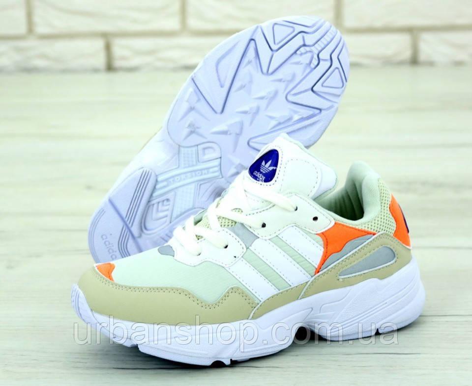 Жіночі кросівки AD YUNG-1 Yung 96 White/Orange. ТОП Репліка ААА класу.