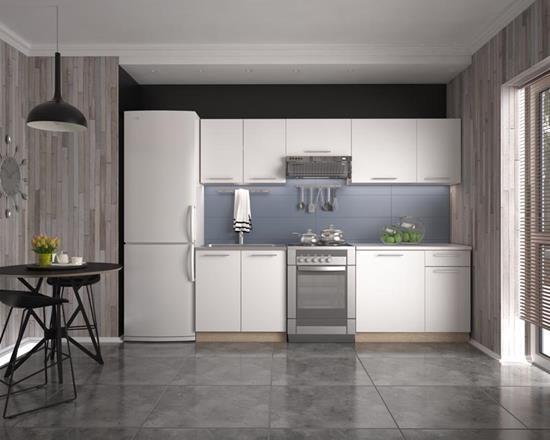 Кухня Daria  240(дуб сонома/белый)  (Halmar)
