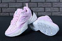 Жіночі кросівки Nike M2K Tekno Pink. ТОП Репліка ААА класу., фото 1