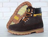 Чоловічі Зимові черевики Caterpillar Colorado Fur, чоловічі черевики. ТОП Репліка ААА класу., фото 1