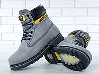 59dd1d5ea1346b Чоловічі Зимові черевики Caterpillar Colorado Fur Grey, чоловічі черевики.  ТОП Репліка ААА класу.
