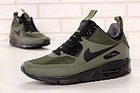 Кросівки чоловічі Найк Nike Air Max 90 Mid Winter Green. ТОП Репліка ААА класу., фото 1