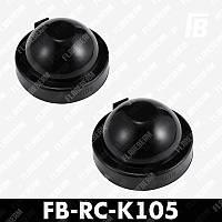 Крышка K105 на фару резиновая для LED ламп и ксенона, Ø105 мм