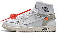 Чоловічі кросівки Nike Jordan Off White . ТОП Репліка ААА класу., фото 1