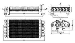 Теплообменник битермический Nobel 18 SE Pro (52111), фото 2