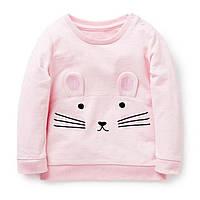Кофта для девочки Розовая мышка Jumping Beans
