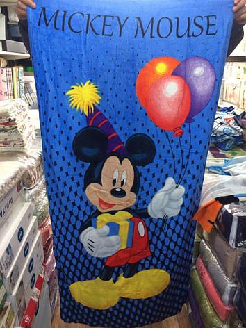 Полотенце пляжное детские мульт герои 75-150см 100% Турция в ассортименте, фото 2