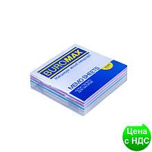 """Блок бумаги для заметок""""Зебра"""" 80х80х20мм, скл. BM.2254"""