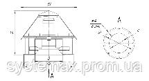 Вентилятор крышный ВКР №3,15, фото 2