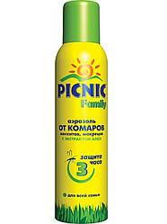 """Аэрозоль-спрей """"Picnic Family"""" защита от комаров 150 мл"""