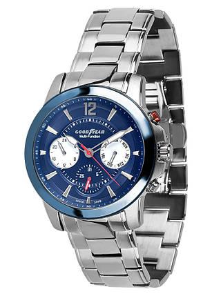 Часы мужские Goodyear G.S01231.01.03 серебряные, фото 2