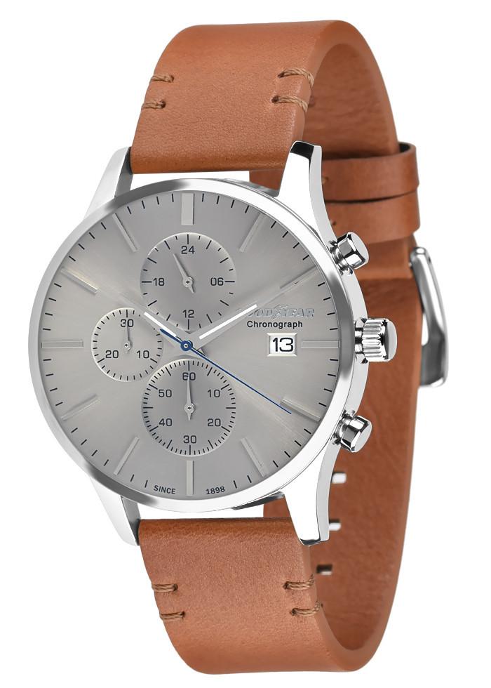 Часы мужские Goodyear G.S01232.01.03 серебряные