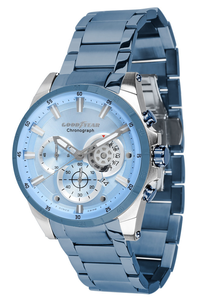 Часы мужские Goodyear G.S01216.03.03 голубые