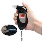 Персональный алкотестер Digital Breath Alcohol Tester | алкометр с мундштуками, фото 6