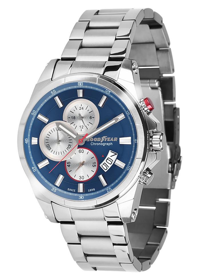 Часы мужские Goodyear G.S01225.02.03 серебряные