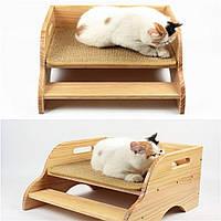 """Лежак для кошки """"Рамона"""" бланже, фото 1"""