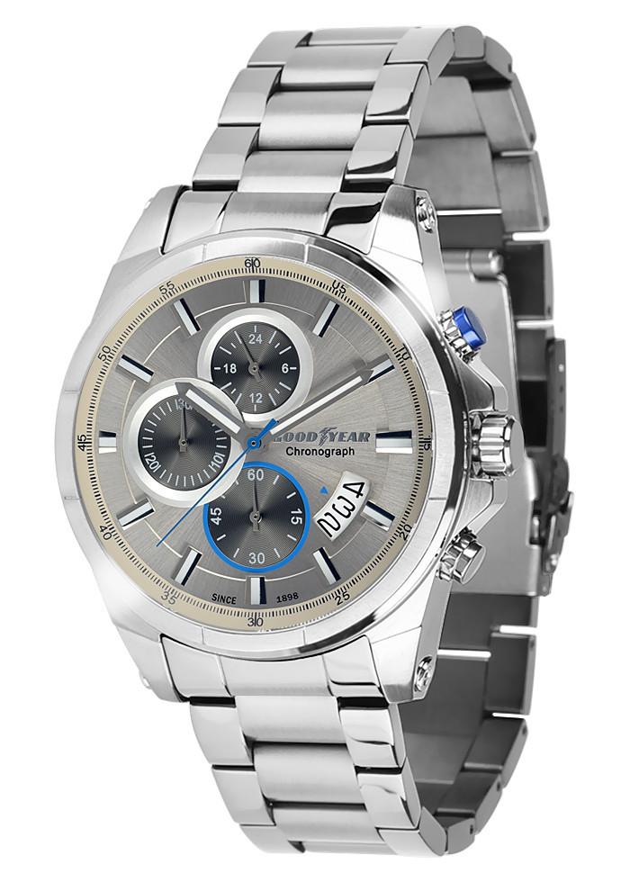 Часы мужские Goodyear G.S01225.02.02 серебряные