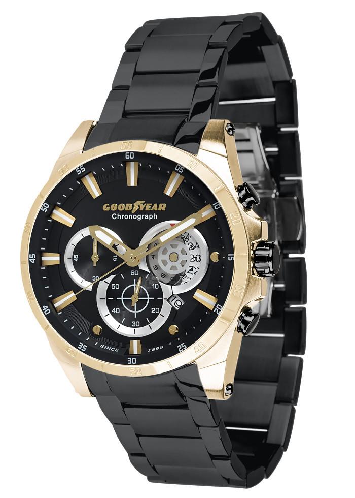 Часы мужские Goodyear G.S01216.03.04 черные