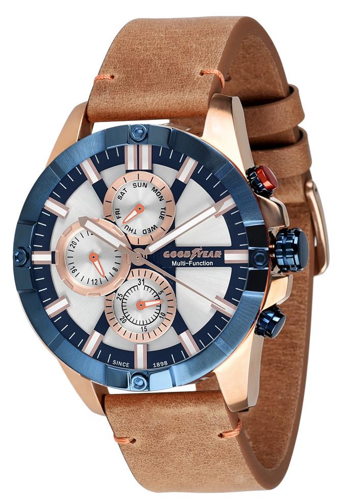 Часы мужские Goodyear G.S01217.01.04 коричневые
