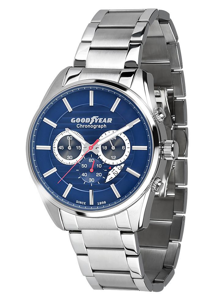 Часы мужские Goodyear G.S01219.01.01 серебряные