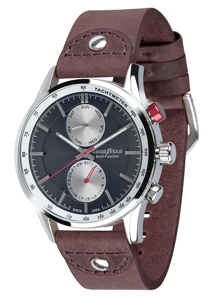 Часы мужские Goodyear G.S01230.01.03 коричневые