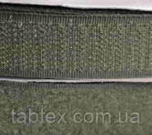 Лента липучка 50 мм.хаки.№327(25 м)(10 компл.в ящ)