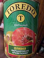 Оливки фаршированные Креветками ИСПАНИЯ 280 грамм