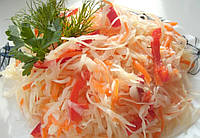 Маринованная капуста с морковкой  1кг (весовая вкус по-домашнему)