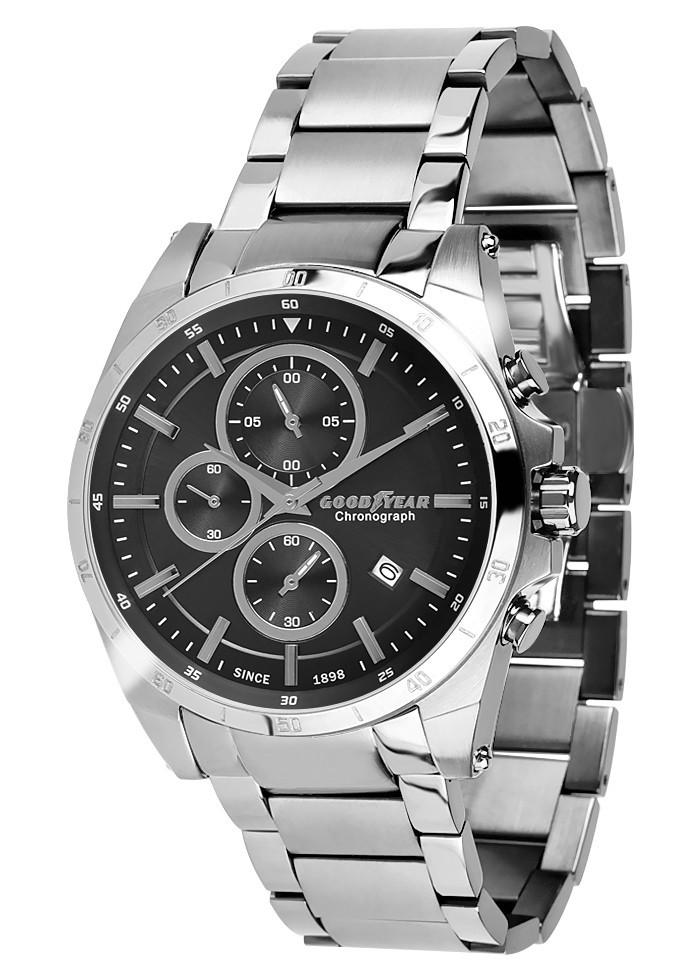Часы мужские Goodyear G.S01226.04.01 серебряные