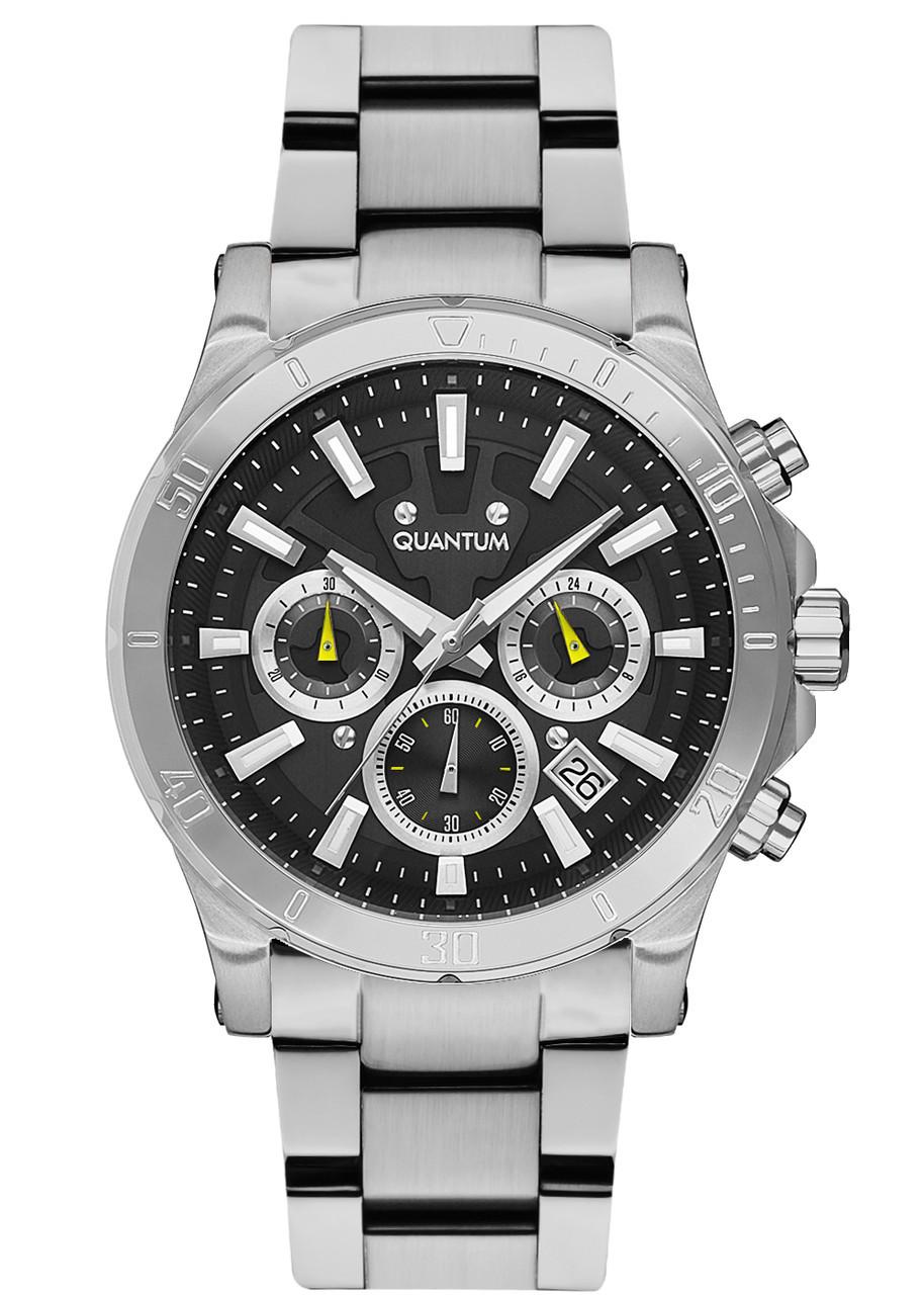 Часы мужские Quantum PWG677.350 серебряные