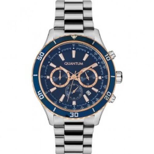 Часы мужские Quantum ADG656.590 серебряные