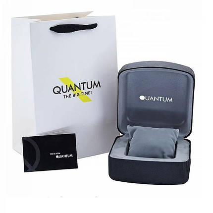 Часы мужские Quantum ADG656.590 серебряные, фото 2
