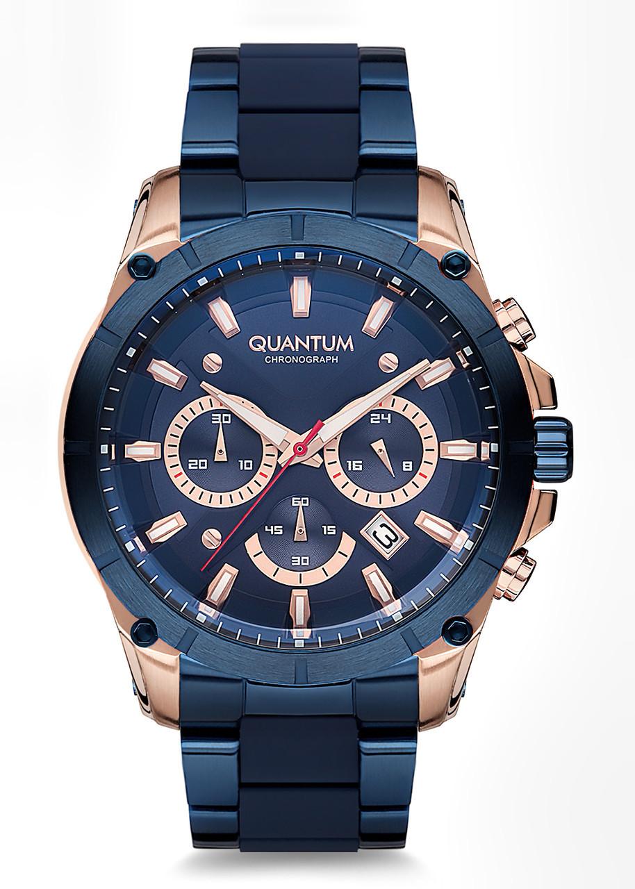 Часы мужские Quantum PWG673.590 синие