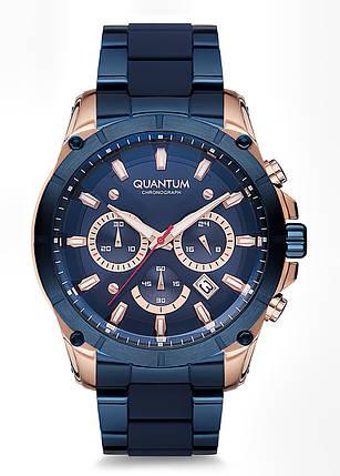 Часы мужские Quantum PWG673.590 синие, фото 2
