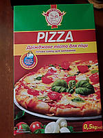 Для Пиццы дрождевое тесто 500 грамм