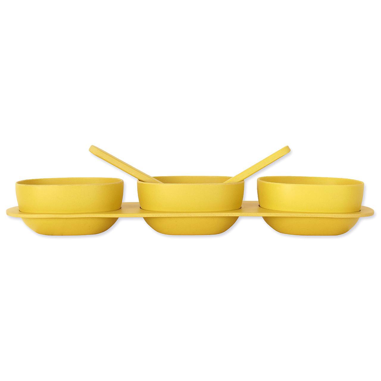 Набор посуды из бамбукового волокна Трио Eco
