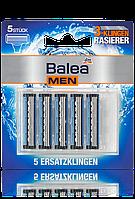 Balea MEN сменные касеты к станку 3 лезвия 3-Klingen Rasierer 5шт