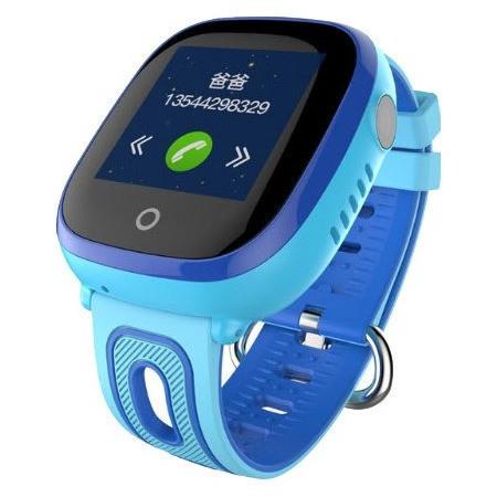 Детские умные часы Smart baby watch DF31g Blue с GPS трекером, IP67 цветной сенсорный экран,камера