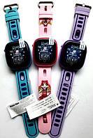 Детские умные часы Smart baby watch DF31g Blue с GPS трекером, IP67 цветной сенсорный экран,камера, фото 4