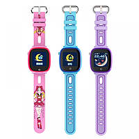 Детские умные часы Smart baby watch DF31g Pink с GPS трекером, IP67 цветной сенсорный экран,камера, фото 2