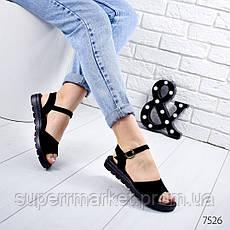 Босоножки женские Classic черный, 7526, фото 2