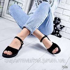 Босоножки женские Classic черный, 7526, фото 3